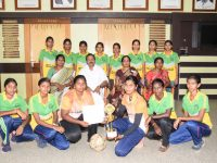 FOOTBALL-Bharathiar University Inter Collegiate Level