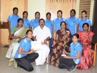 SWIMMING team- Bharathiar University Inter Collegiate Level